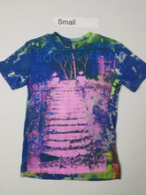"""Rise to the Top"" Monoprint Size: Small T-Shirt"
