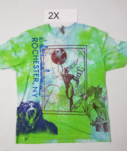 """Green Soul"" Monoprint Size: 2X T-Shirt"
