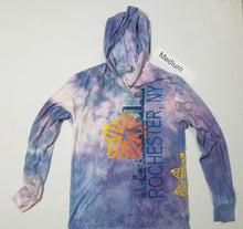 """Baby Clouds"" Monoprint Thin Hoodie Size: Medium"