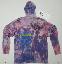 """Rolling Thunder"" Monoprint Thin Hoodie Size: XL"