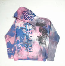 """Pink Taco Nights"" Monoprint Thick Hoodie Size: XL"