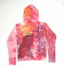 """The Empire Apple"" ""Monoprint Thick Hoodie Size: XS"