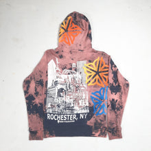 """Indian Summer"" Monoprint Thick Hoodie Size: XS"