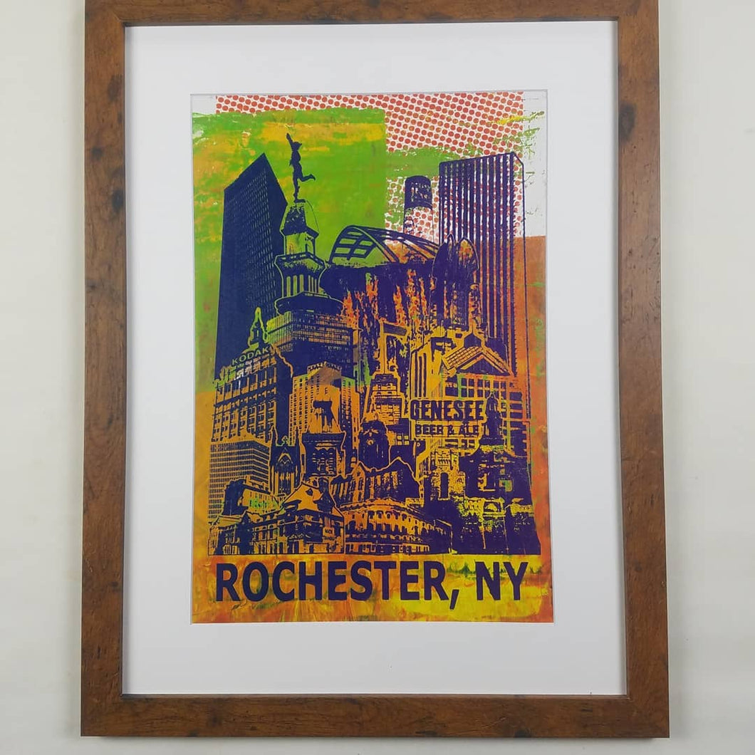 Title: Rochesterathon, Limited 1/1 Framed & Matted 20 x 26