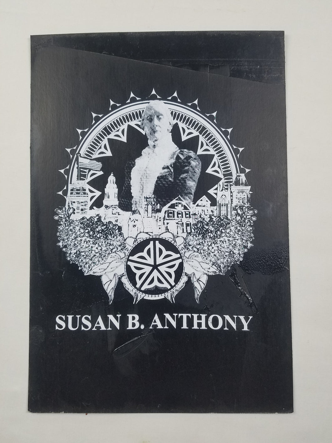 The Susan B. Anthony Screen Print Poster 13 X 19