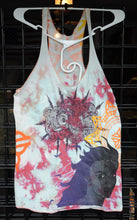 """Bright City"" Monoprint Size: X-Small RacerBack Tank Top"