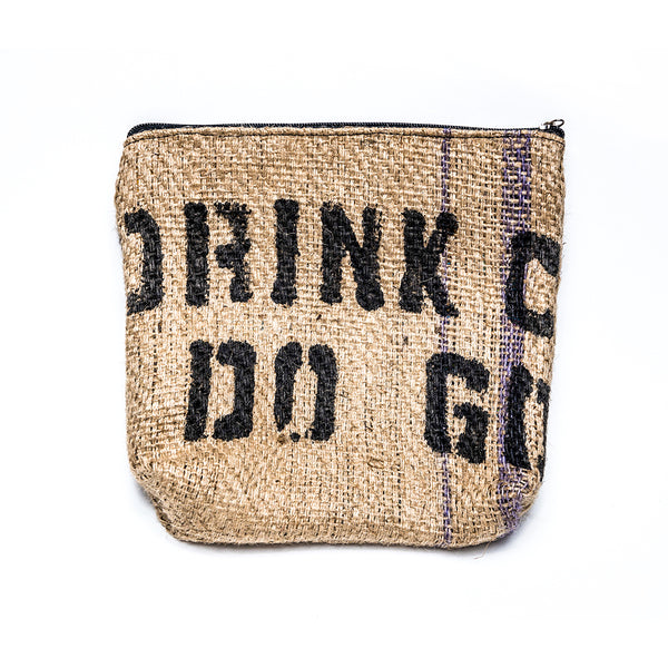 Burlap Pouch Handmade by COPO