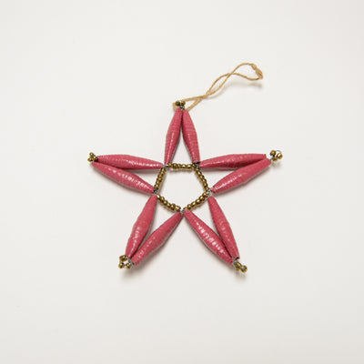 Paper Bead Star Ornaments