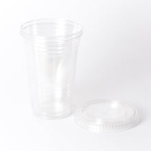 Dart Solo Clear Flat Lid with Straw Slot - 1000/Case