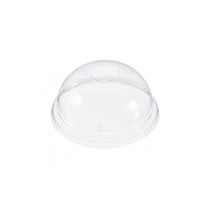 Dart Conex Clear Dome Lid with 2