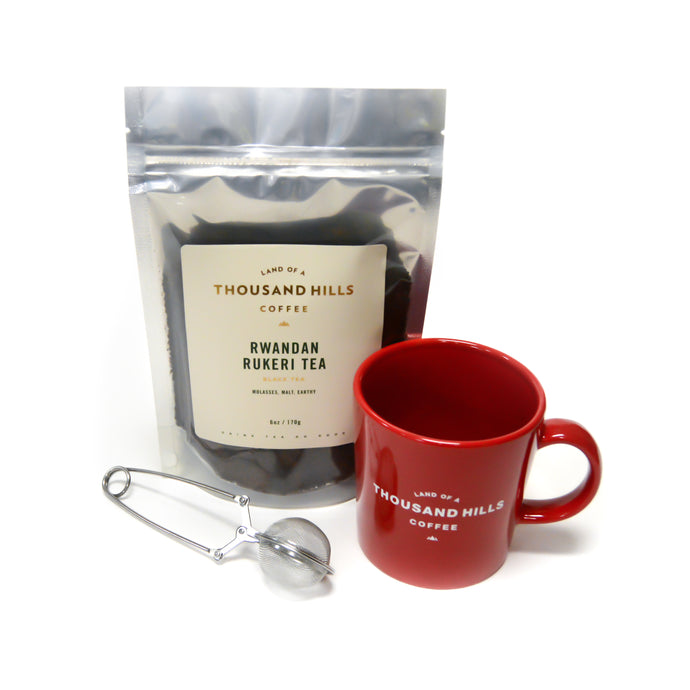 Rwandan Black Tea & Mug Gift Box
