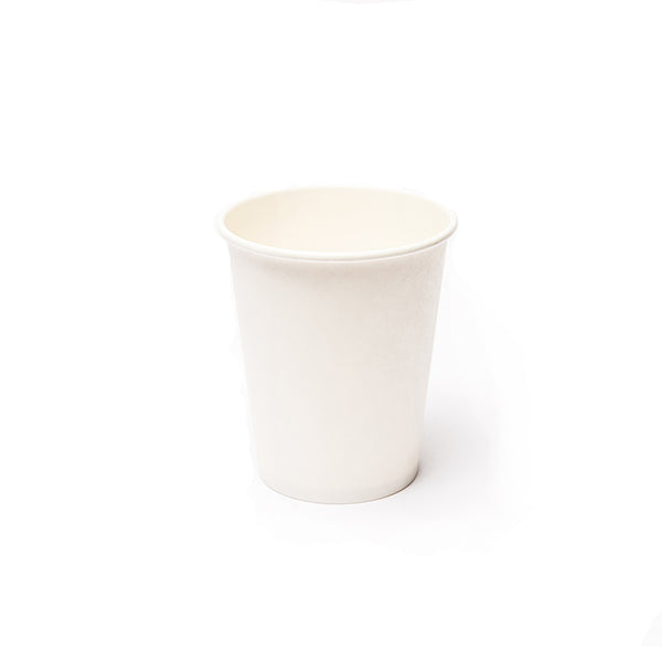Dart Solo White Poly Paper Hot Cups - 1000/Case