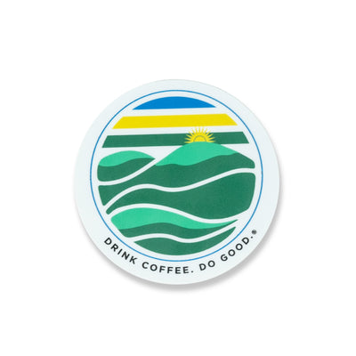 Thousand Hills of Rwanda Sticker