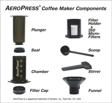 Aeropress w/ Tote Bag & Filters