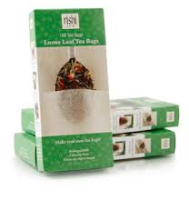 Loose Leaf Tea Sachet Filters 100/per box