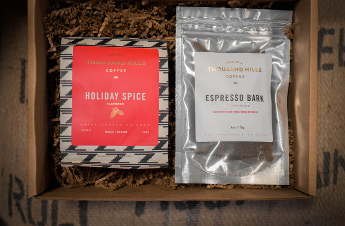 Holiday Spice & Espresso Bark Gift Box