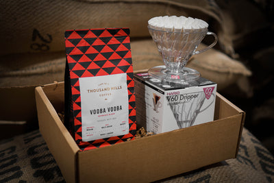 Manual Pour Over Hario V60 Gift Box