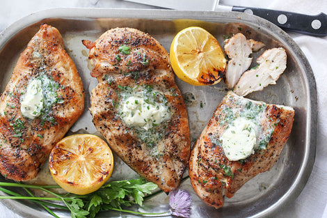 Chicken Breast with Herb Butter