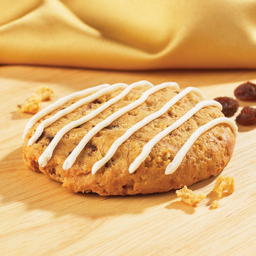 Oatmeal Raisin with Drizzle (gf, v)