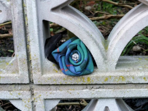 Flower of Scotland Tartan Wrist Corsage