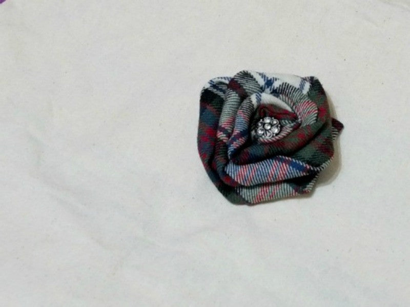 MacDonald Dress Tartan Brooch