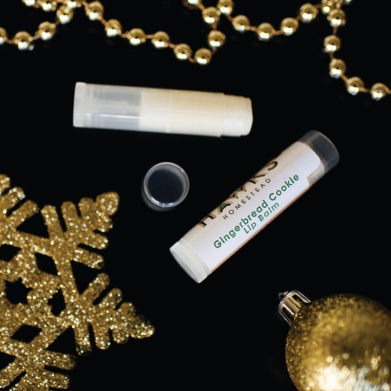 Gingerbread Cookie Lip Balm