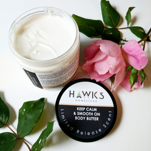 Keep Calm & Smooth On Body Butter