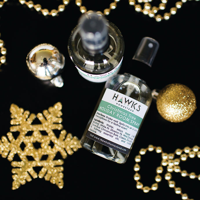 HOLIDAY HAPPINESS Seasonal Linen Spray