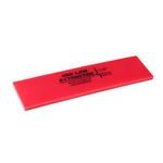 "GT2115B - 8"" Red Line Extractor 1/4"" Thick No Bevel Squeegee Blade"