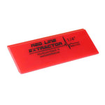 "GT2114 - 5"" Red Line Extractor 1/4"" Thick Double Beveled Squeegee Blade"