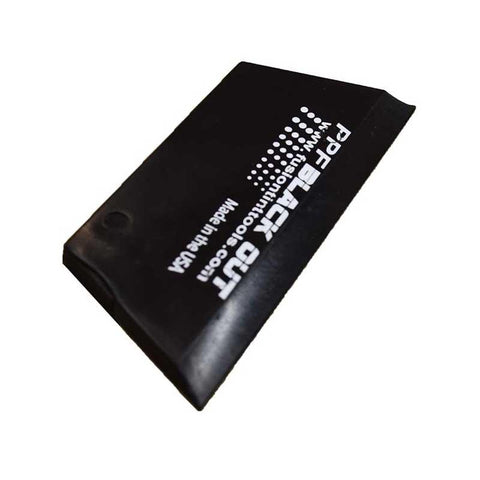 "GT2105 - 5"" Cropped PPF Black Out Squeegee"