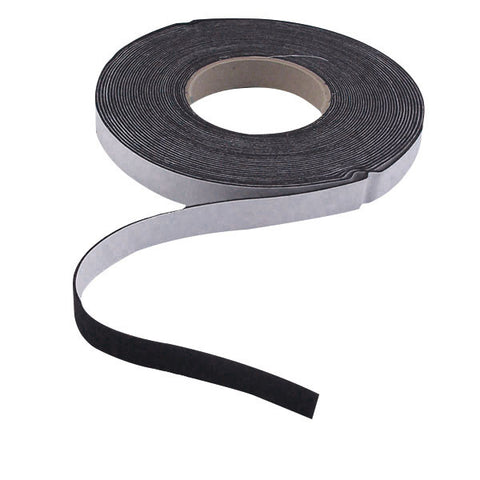 "GT078-75 - 0.75"" Black Acrylic Felt 50 Feet (Soft)"