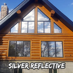 Silver Reflective Window Tint