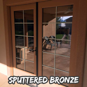 Sputtered Bronze Window Tint