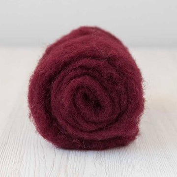 Bergschaf Wool Carded Batt - Soft Fruit