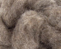 Corriedale Bulky Wool Roving-Squirrel