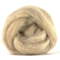 Corriedale Bulky Wool Roving-Dark Fawn