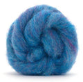 Corriedale Bulky Wool Roving-Bilberry Pie