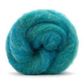 Corriedale Bulky Wool Roving-Bubblegum