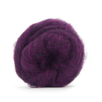 Corriedale Bulky Wool Roving-Cartwheel