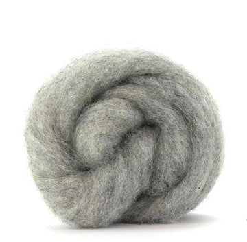 Corriedale Bulky Wool Roving-Drizzle
