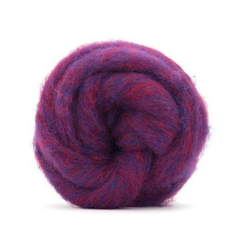 Corriedale Bulky Wool Roving-Forest Fruits