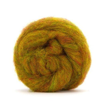 Corriedale Bulky Wool Roving-Fruit Salad