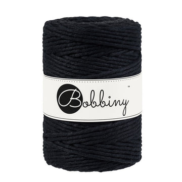 Macrame Cord 5mm Black