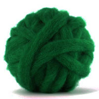 Corriedale Bulky Wool Roving-Forest