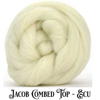 White Jacob Wool-Wool Top
