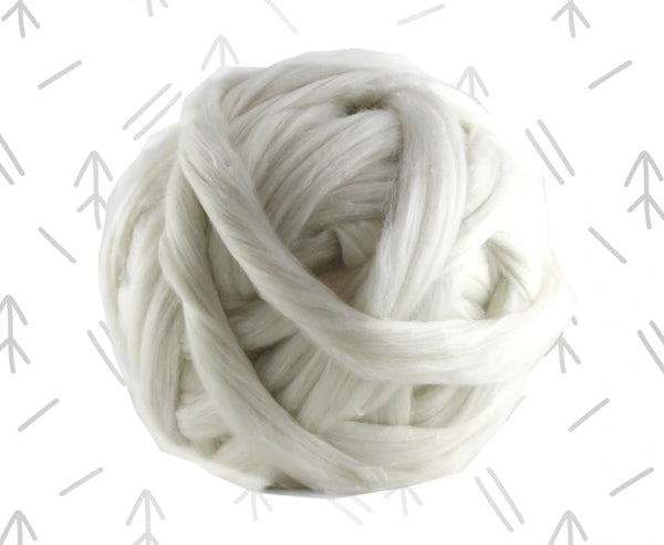 Lullaby - Merino, Tweed and Bamboo Roving Combed Top Blend