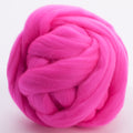 Merino Wool-Hot Pink