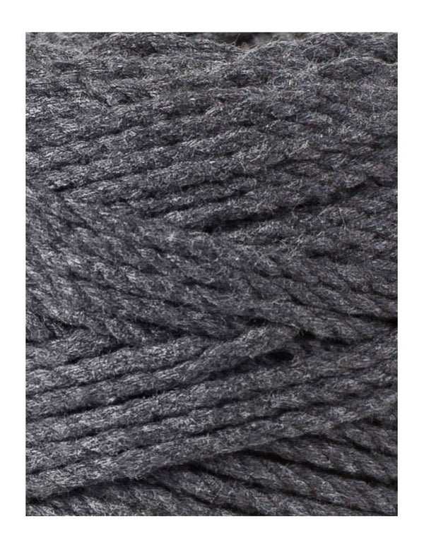 Macrame Rope 3mm Charcoal
