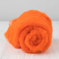 Maori Carded Batt-Orange